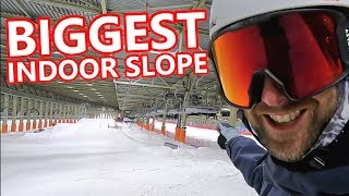Snowboard - Biggest Indoor Snowboarding In Europe!