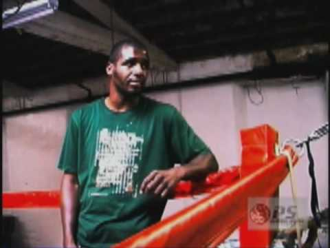 """Demetrius """"The Gladiator"""" Hopkins: Philly Welter Weight boxer / Platinum Stacks TV"""