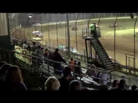 CrazyJohn Videos 10.7.16  Moler Raceway  All Mod heats back to back