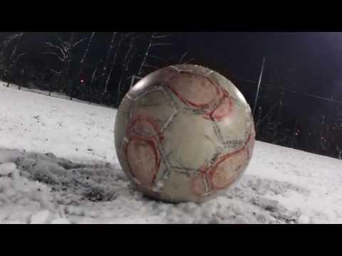 Snow football! Zima nam nie straszna!