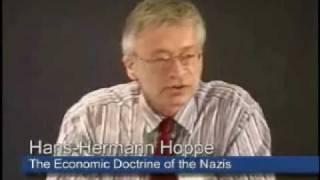 The Economic Doctrine of the Nazis | Hans-Hermann Hoppe