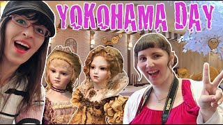 Ein Tag in Yokohama • Von Gudetama und Puppen [ENG Sub]