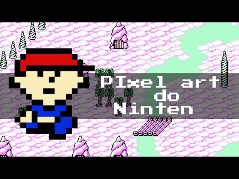 Pixel art do Ninten!-MOTHER
