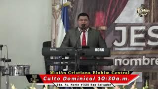 Tema: ¡NI FRIO NI CALIENTE! / CULTO DOMINICAL / Misión Cristiana Elohim Central