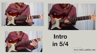 Mission Impossible COMPLETE Theme - Solo Lead Guitar, Rhythm Guitar & Bass Guitar