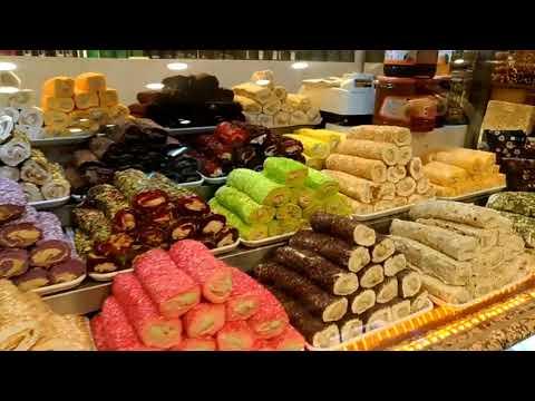 Турецкие сладости рахат лукум Кемер