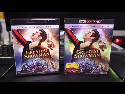 The Greatest Showman 4K Blu-Ray Review