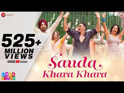 'SAUDA KHARA KHARA ' sung by Diljit Dosanjh & Dhvani Bhanushali