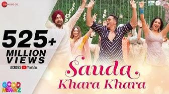 Sauda Khara Khara - Good Newwz | Akshay,Kareena,Diljit,Kiara| Sukhbir, Dhvani|Lijo,Dj Chetas| Kumaar