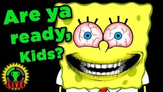 RUINING YOUR CHILDHOOD!! | Spongebob Horror Games (3AM At The Krusty Krab)