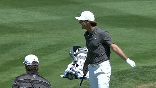 Will MacKenzie splashes out of bunker for eagle at Valero