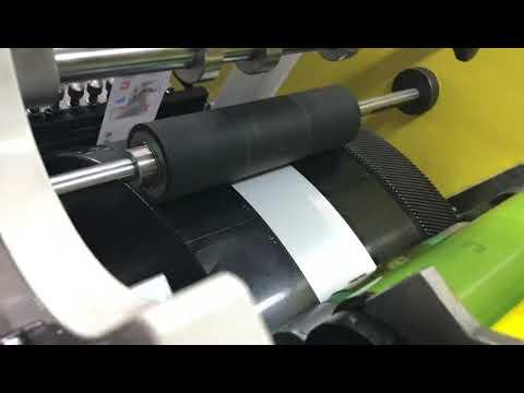 Flexo Fabric Label Printing Machine 6C+2C
