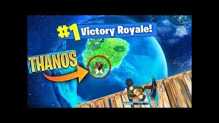 FORTNITE HOW TO RUIN THANOS' DAY - Skybase win