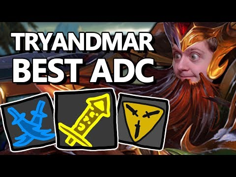 TRYNDAMERE ADC IS ACTUALLY INSANE!! - Fogged, probably.