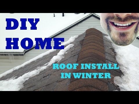 How to Install a New Roof in Winter | FIX IT