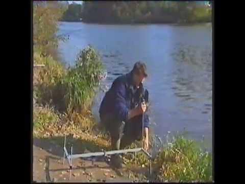 Altes Karpfenvideo Flusskarpfen Frank Schmidt aus 1994
