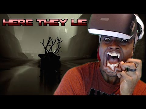 DEMONIC REINDEERS    HERE THEY LIE PlayStation VR's Horror Game
