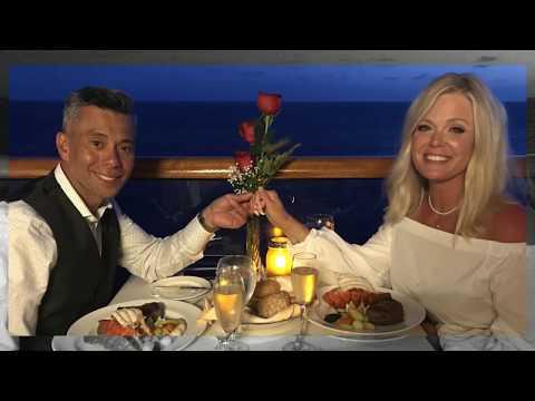 Balcony Dinner with Caribbean Princess Eastern Cruise 2018