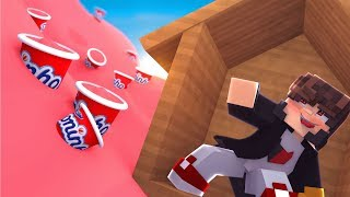 Minecraft: DESAFIO DA BASE 100% SEGURA CONTRA TSUNAMI DE DANONINHO  ‹ JUAUM ›