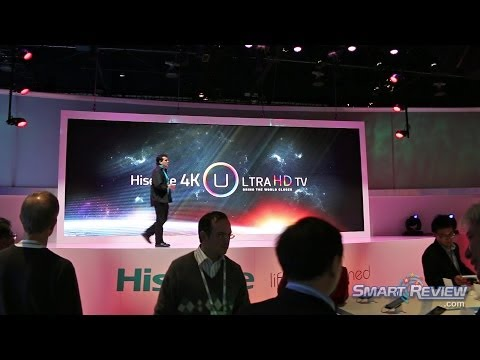 CES 2014 | Hisense 4K Ultra HD TV Lineup | UHD LED TVs| SmartReview.com