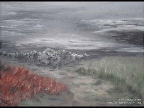Storm (Oil Painting)