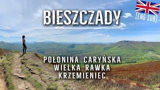 Połonina Caryńska - Mała Rawka - Wielka Rawka - Krzemieniec - Bieszczady 05.2020