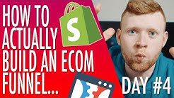 Clickfunnels Training #4 - Building An Ecommerce Funnel That Makes Money Right Away (Dropshipping)