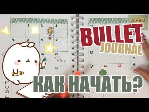 Bullet Journal | Как вести ежедневник Bullet Journal | Идеи оформления личного дневника 📕✏️