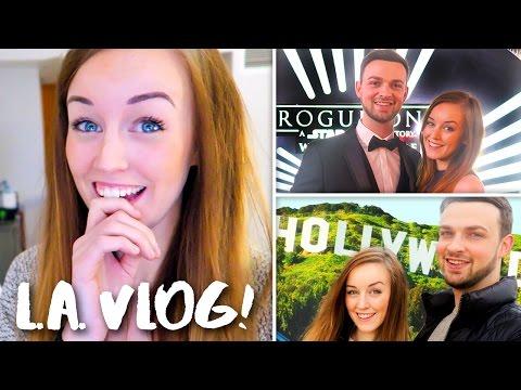 ROGUE ONE WORLD PREMIERE, BOYFRIEND GIFT & MORE! - L.A. Vlog!