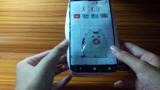 Hướng dẫn làm squishy giấy 3D hình điện thoại