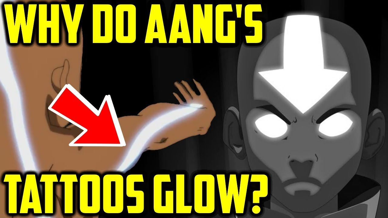 Why Do Aang S Tattoos Glow In The Avatar State Avatar The Last Airbender Explained Youtube