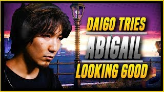 Daigo Umehara hands on look at how he uses Abigail a new DLC Chract...