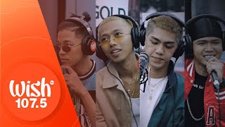 "MC Einstein ft. Flow G, Yuri Dope, and Jekkpot perform ""Titig"" LIVE on Wish 107.5 Bus"