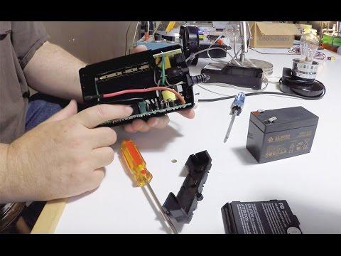 Inside a CyberPower Battery Back-Up UPS