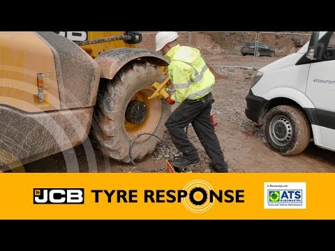 JCB Tyre Response- The One Stop Shop Tyre Solution- Construction