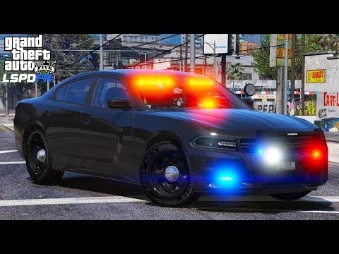 GTA 5 LSPDFR #559 | Late Night Live Highway Patrol | Unmarked 2016 Charger