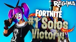 Lace Skin - Fortnite - Solo Win - Battle Royale - Regime
