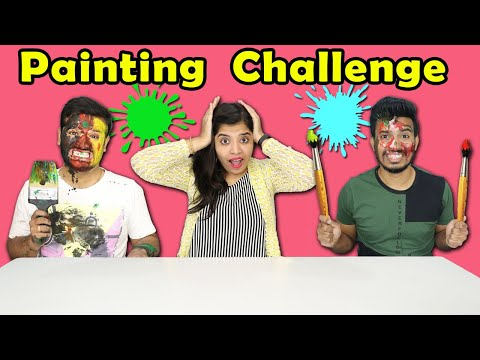 Extreme Painting Challenge | Drawing Competition | Hungry Birds
