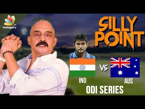 Manish Pandey Pulls Off A Stunning Catch : Bosskey's India vs Australia 2017, 3rd ODI Highlights