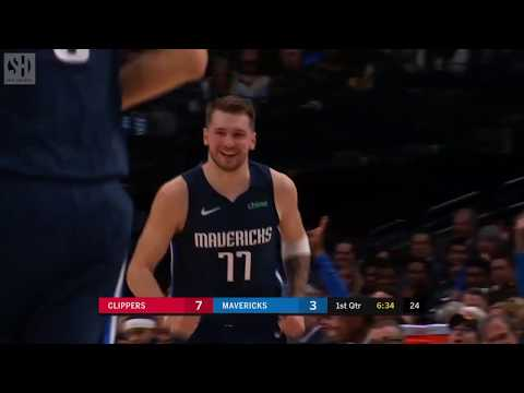 Luka Doncic Full Play Vs Los Angeles Clippers 01 21 20 Smart Highlights