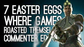 7 Easter Eggs Where Games Roasted Themselves: Commenter Edition