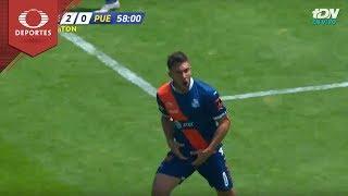 Gol de Lucas Cavallini | Pumas 2 - 1 Puebla | Apertura 2018 - Jornada 11 | Televisa Deportes