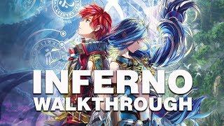 Ys VIII: Lacrimosa of Dana INFERNO Walkthrough // (5) Towering Coral Forest / Serpentus BOSS