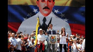 In Venezuela, protests over aid mount amid humanitarian and political crises