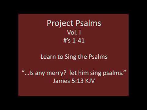 Psalm 1   Tune: St. Peter  Scottish Metrical Psalter 1650