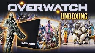 Распаковка: Overwatch - Игромания открывает коллекционное издание!