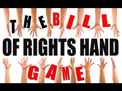 The Bill of Rights Hand Game: US History Review