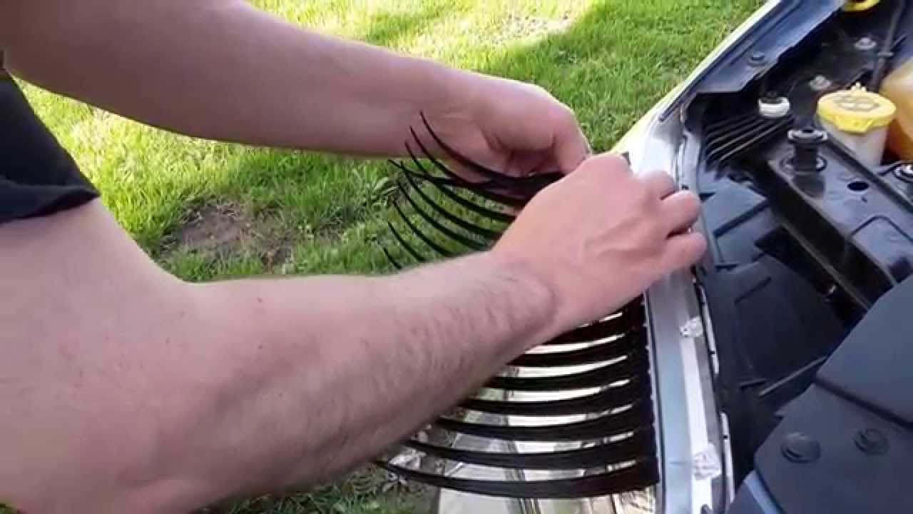 How To Apply Car Lashes To A Chrysler 200 Youtube