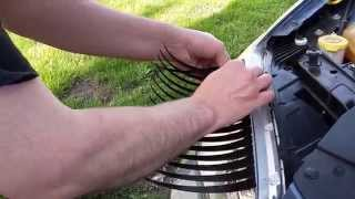 How to apply car lashes to a Chrysler 200