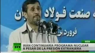 Irán seguirá su programa nuclear pese a amenaza de nuevas sanciones